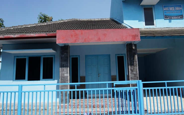 Anjani Guesthouse Yogyakarta Yogyakarta - Exterior