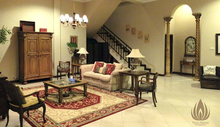 Villa Pakem Yogyakarta Yogyakarta - Ruang Keluarga