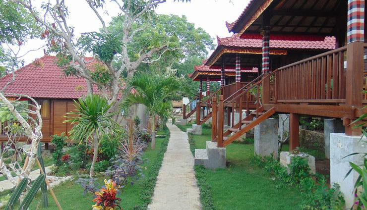 Starfish Lembongan Bali - Taman dan Vila