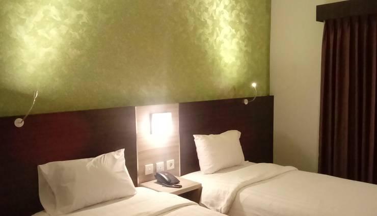 Jodipati Hotel Bengkulu - Kamar Deluxe Twin