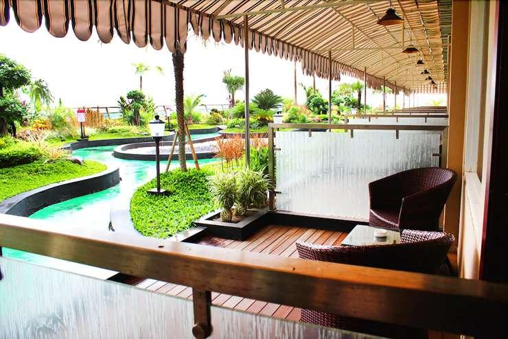 Q Grand Dafam Syariah Banjarbaru - Terrace/Patio