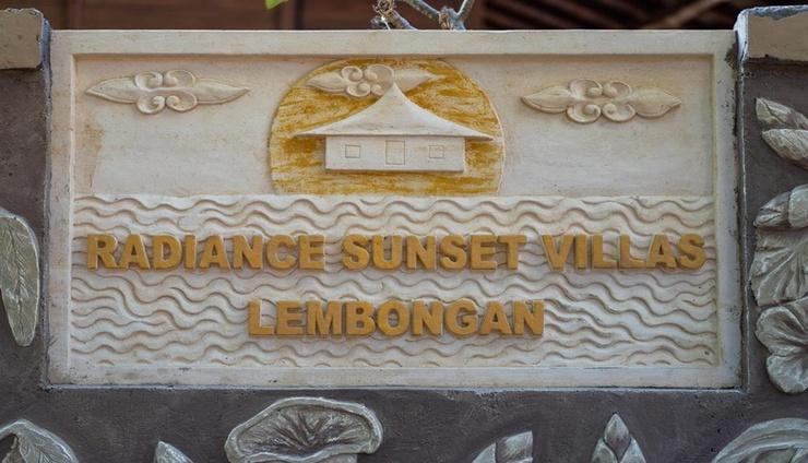 Radiance Sunset Villas Lembongan Bali - exterior
