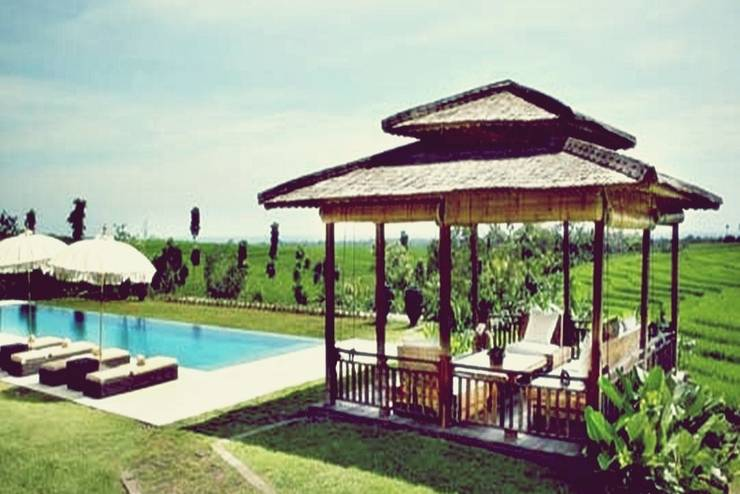 Tangguntiti Villas Bali - Kolam Renang