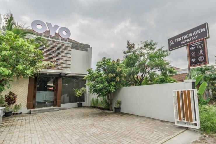 OYO 411 homestay tentrem ayem Yogyakarta - Facade