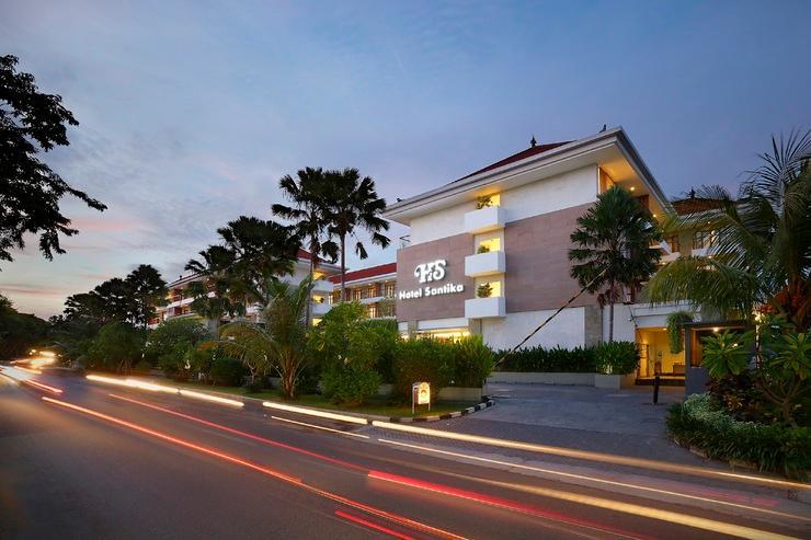 Santika Siligita Bali - Entrance