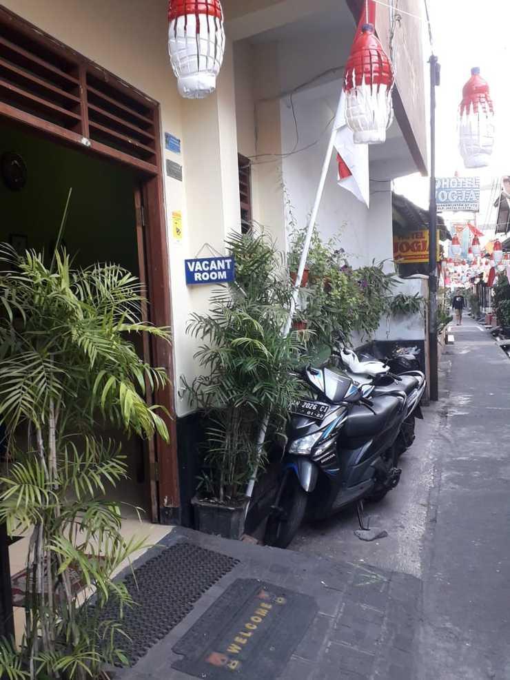 Merbabu Hotel Yogyakarta - Parkir Motor