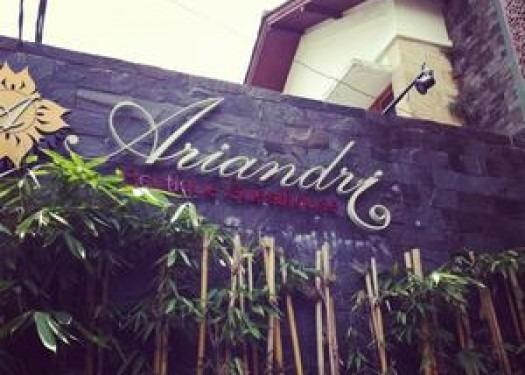 Ariandri Boutique Guesthouse Bandung - Nama hotel