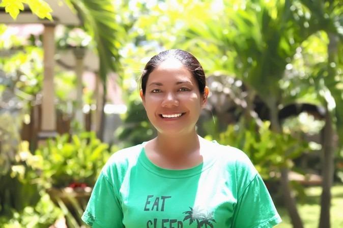 Rama Garden Retreat Bali - Halo saya Kadek, host Anda di Rama Garden Retreat