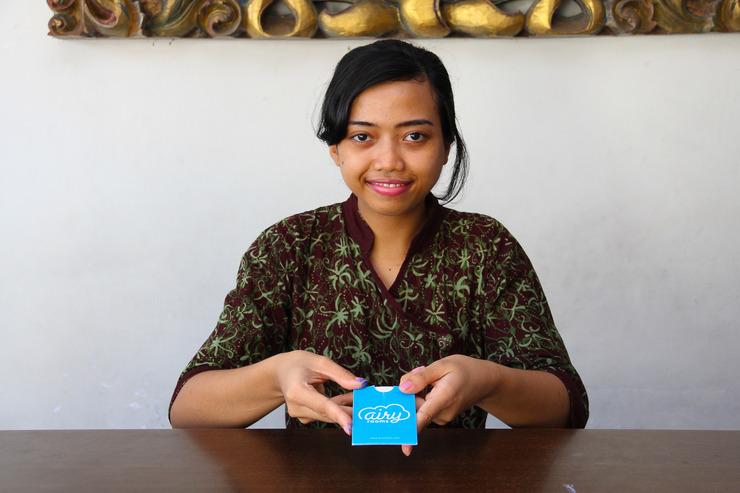 Airy Sanur Bypass Ngurah Rai 41 Bali - Receptionist
