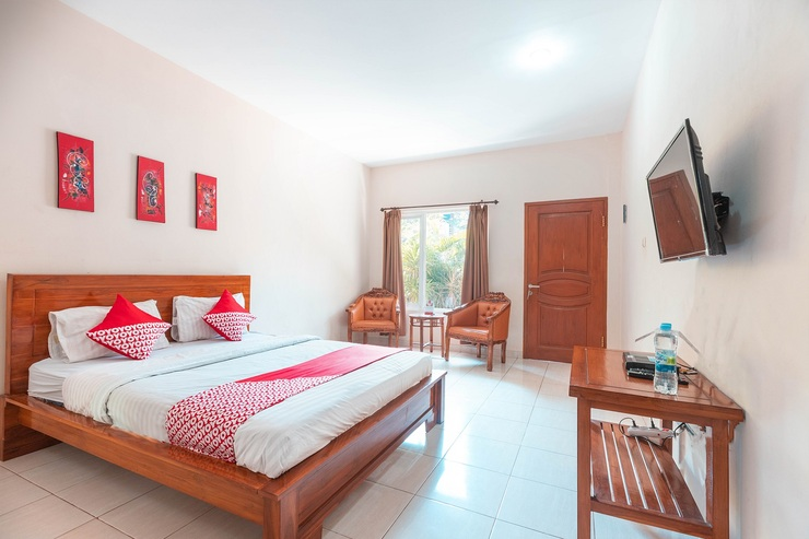OYO 665 Namora Residence Near Olahraga Nasional Hospital Jakarta - Bedroom Dlx-D