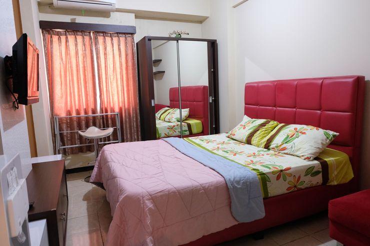 The Suites @Metro Apartemen by Zaky Bandung - Kamar Tidur