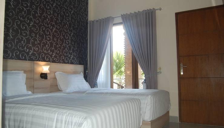 North Wing Canggu Resort Bali - Kamar dengan 2 tempat tidur