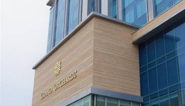 Grand Orchardz Hotel Rajawali Kemayoran Jakarta Jakarta - Bangunan Luar