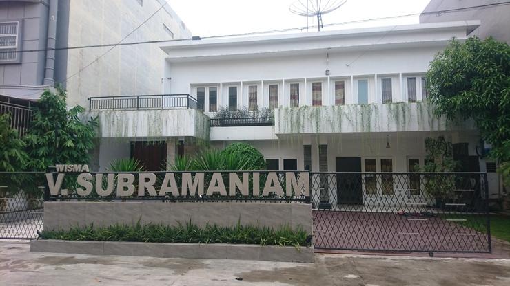 Wisma V Subramaniam Medan - Exterior