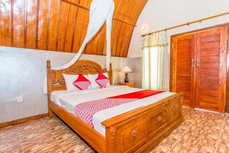 OYO 1133 Gusung Indah Bungalow & Restaurant Lombok - Bedroom