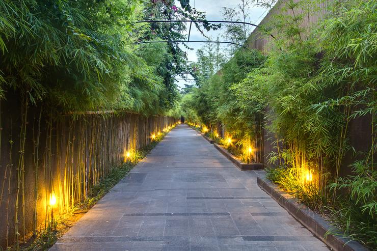 The Nibbana Villas Bali - lobi