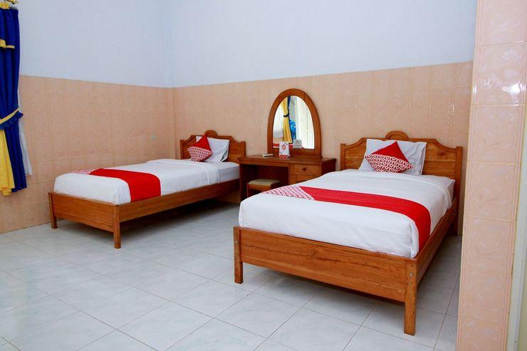 OYO 1669 Hotel Vista Syariah Bengkulu - Bedroom