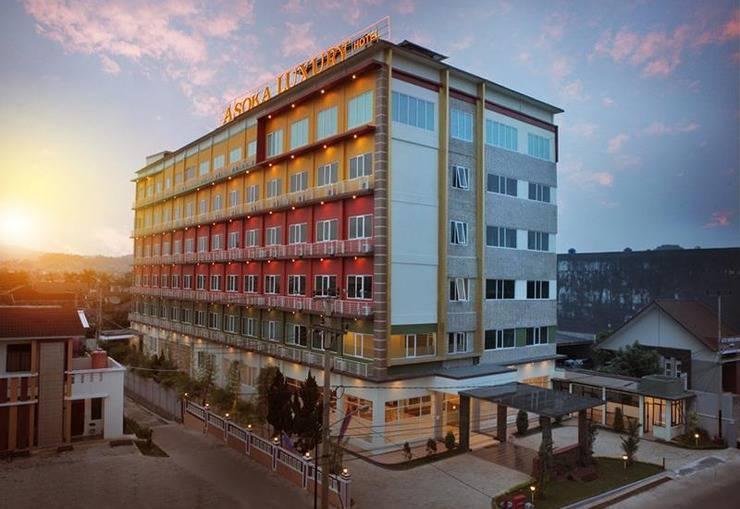 Asoka Luxury Hotel Lampung - Tampilan Luar Hotel
