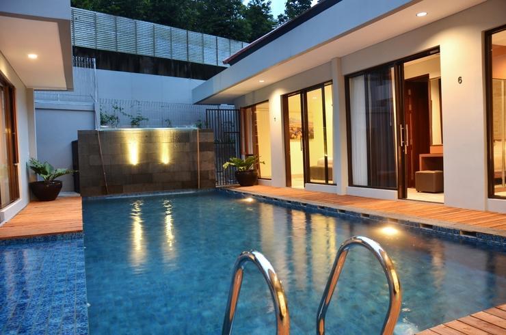 3 BR Villa Dago Mountain View Bandung - Kolam
