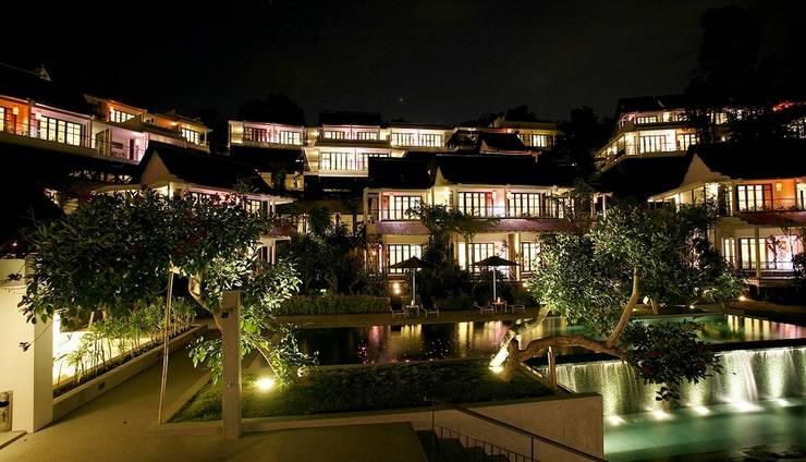 Turi Beach Resort Batam - Tirta Wing at night