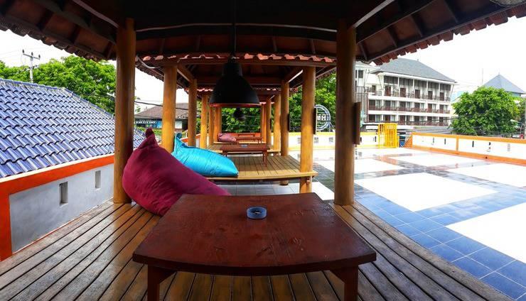 Bedbunkers Bali - Gazebo