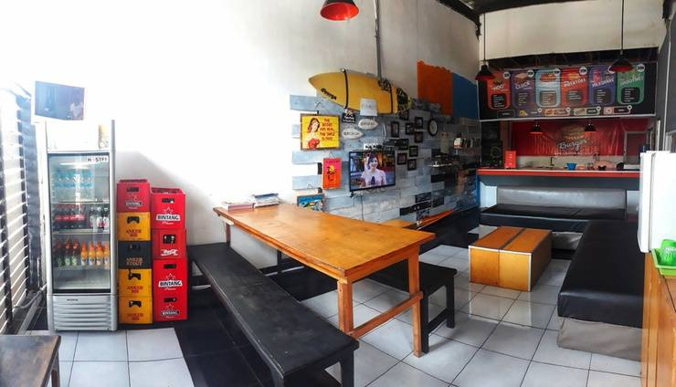 Bedbunkers Bali - Common area