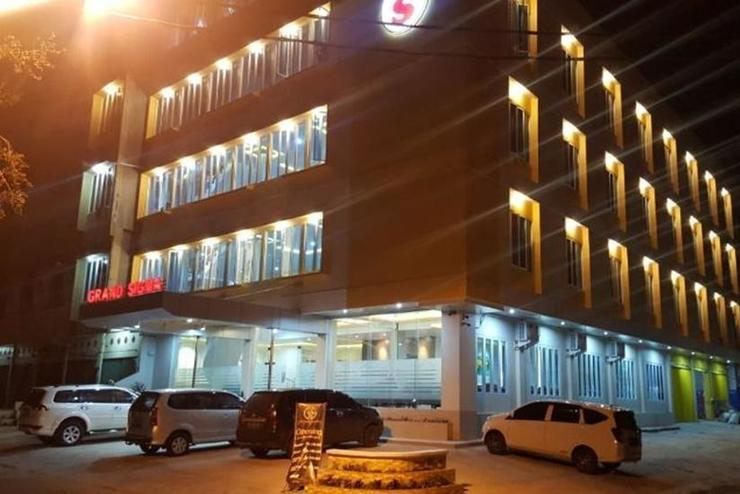 Hotel Grand Sigma Lahat - Facade