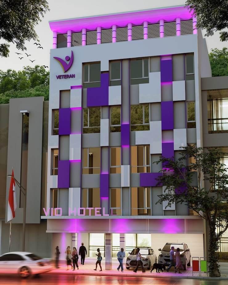 Vio Veteran Bandung - Front of Property