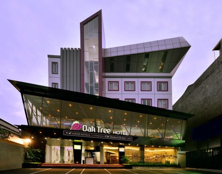 Oak Tree Urban Hotel Jakarta - Tampak Muka Hotel