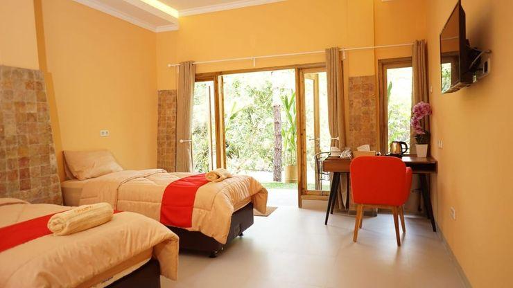 Caldera River Resort Villa Sukabumi - Bedroom