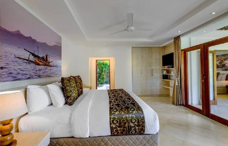 Villa Vitari Seminyak Bali - Kamar tidur
