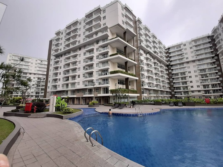 Gateway Pasteur Apartement By Kevin Bandung - Kolam renang