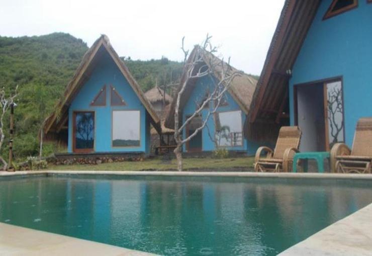 Blue Monkey Villas Areguling Lombok - Pool