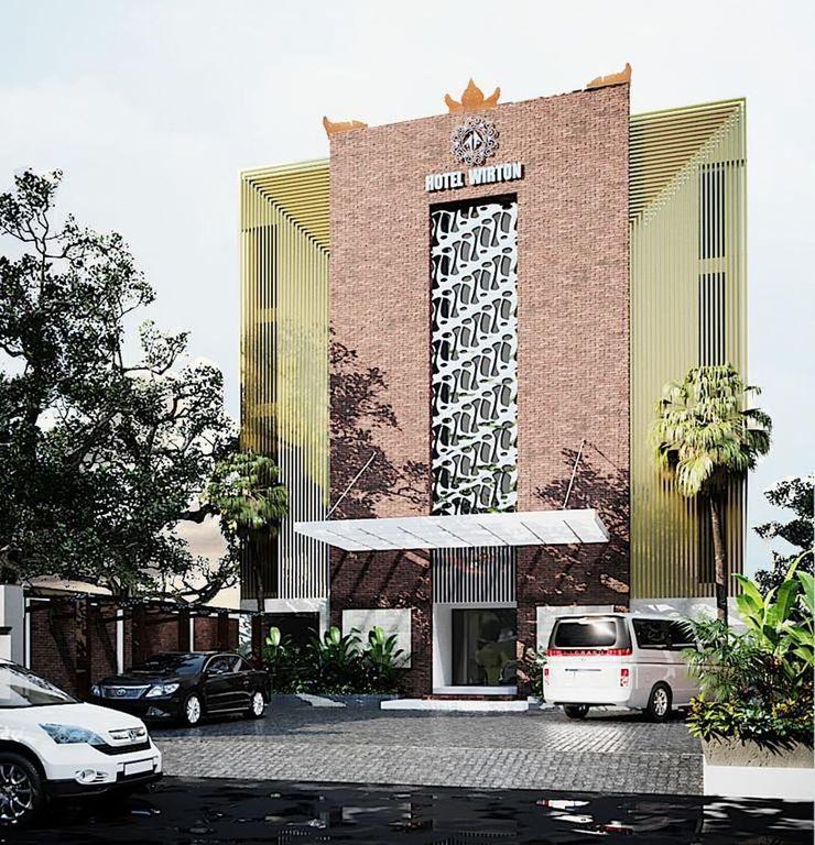 Hotel Wirton Seminyak Bali - Facade