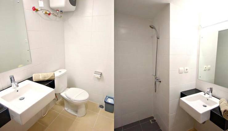 Apartment Beverly Hills Dago Bandung - Kamar mandi