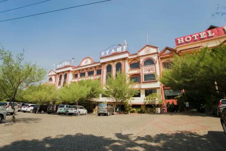 Hotel Utami Sidoarjo - tampak depan