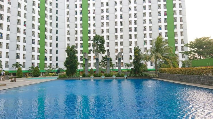 Apartemen Green Lake View Ciputat by Farida Property Tangerang Selatan - Facade