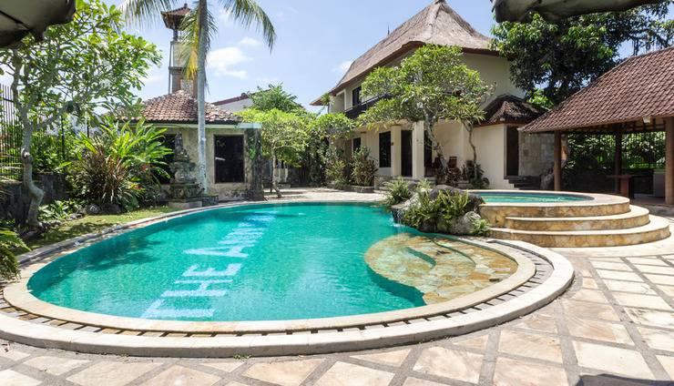 RedDoorz Plus @ Tjampuhan Ubud Bali - Kolam Renang