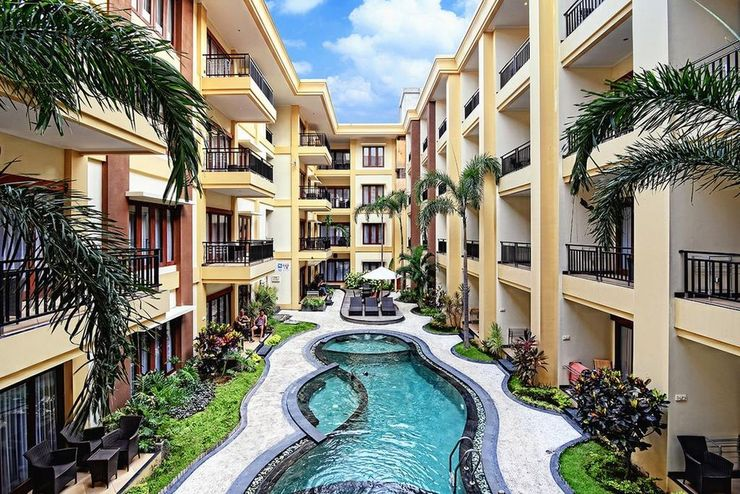 Kuta Townhouse Apartments Bali - Exterior