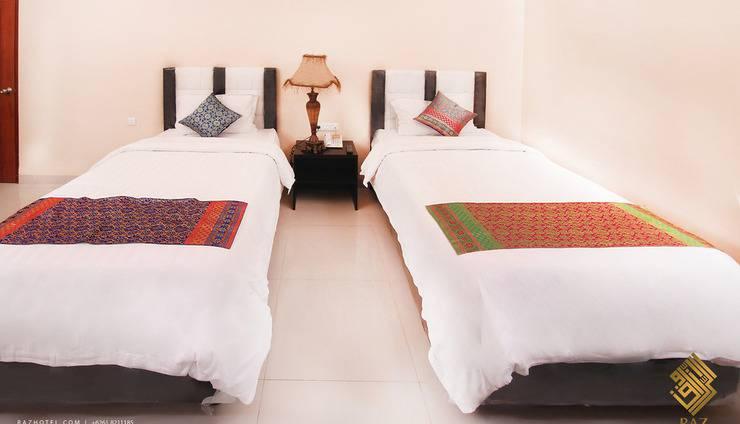 Raz Hotel Medan - KAMAR DELUXE TWIN