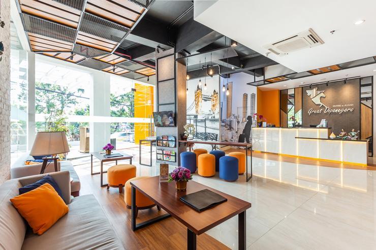 Great Diponegoro Hotel by Azana Surabaya - Lobby