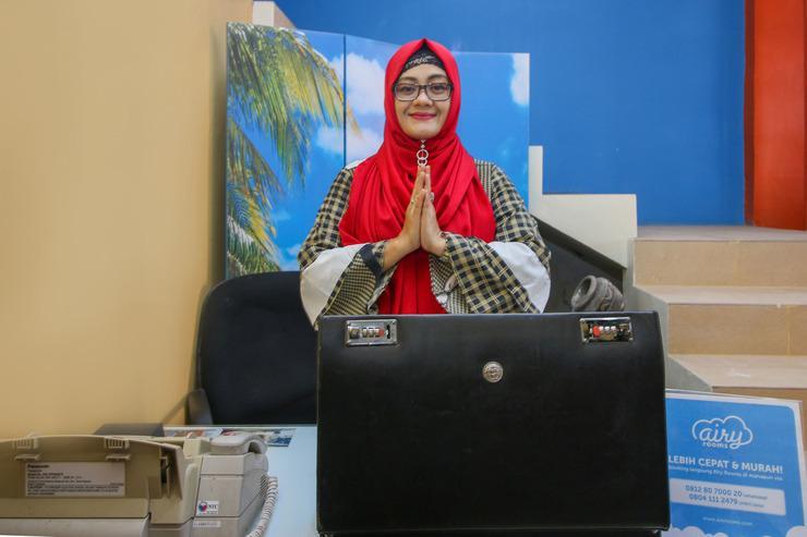 Airy Syariah Gunungsari Ilir Kauman 22 Balikpapan - Reception
