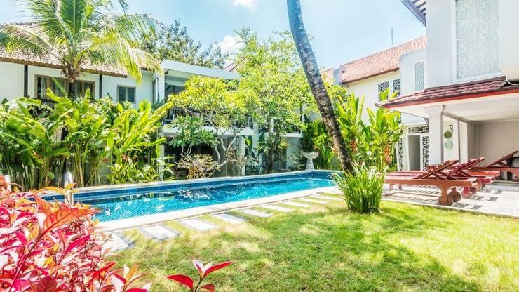 Abian Biu Mansion Bali - kolam renang