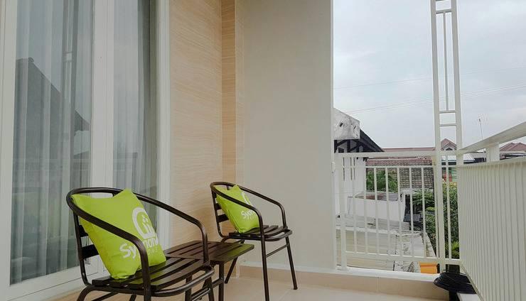 Singgalang Homestay Syariah Malang - balkon