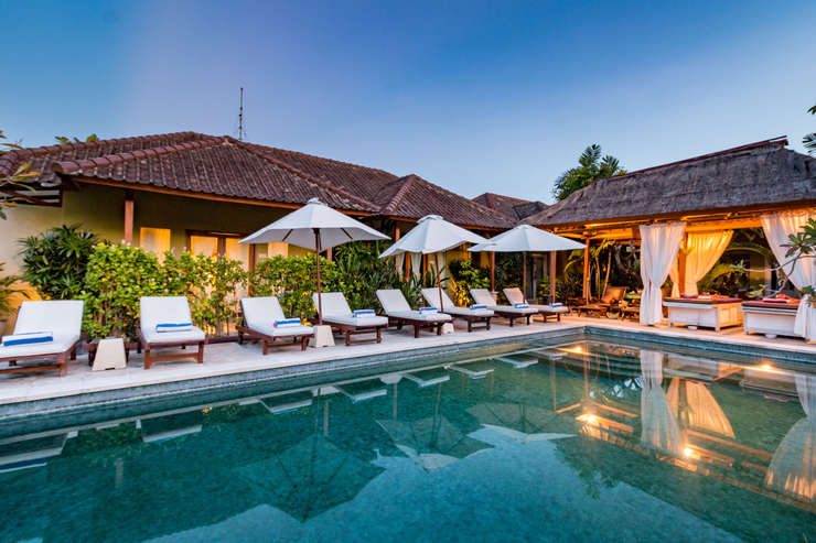 Aleesha Villas Bali - Swimming Pool