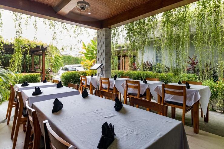 Aleesha Villas Bali - Restaurant