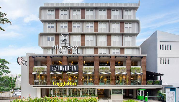 Nite & Day Residence Alam Sutera - Facade
