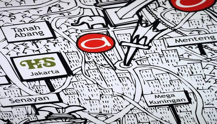 Amaris Thamrin City - Map