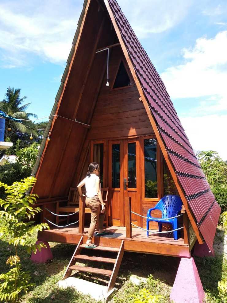 Tanjung Tinggi Cottage Belitung - pondok kayu