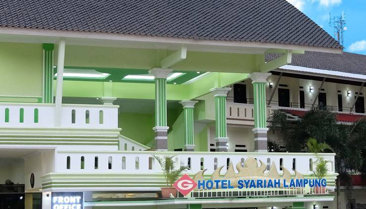 G Hotel Syariah Bandar Lampung - Bangunan